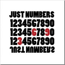 Canvas Just Numbers