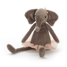 Knuffel Dancing darcey elephant