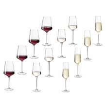 leonardo Wijnglas, set van 12 PUCCINI