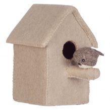 kidsdepot Decoratie Vogelhuisje met piet