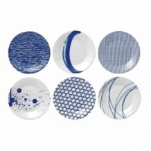 royal doulton Gebaksbord Pacific set 6-delig