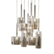 dome deco Hanglamp Pendle 9 lamps