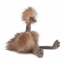 Knuffel Odette ostrich groot