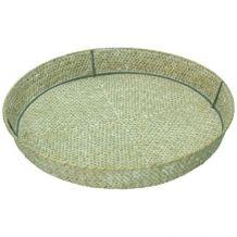 Dienblad Round seagrass