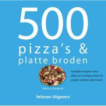 KOOKBOEK 500 PIZZA'S & PLATTE BRODEN