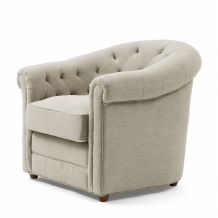 riviera maison Zetels Grantham Chair Linen FabFlax