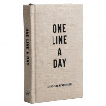 LIFESTYLE BOEK CANVAST ONE LINE A DAY