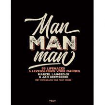 Lifestyle boek Man man man