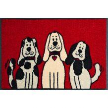 Schoonloopmat Three Dogs