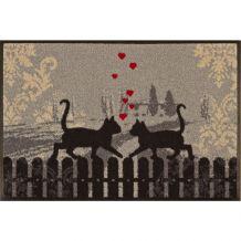 Schoonloopmat Cats in Love