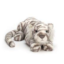 Knuffel Sacha snow tiger