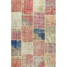 Handgeknoopt tapijt Ankara 21