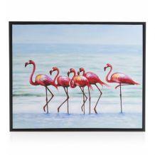 coco maison Schilderij Flamingo On The Go